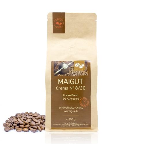 Kaffee Crema N° 8/20 (ganze Bohne)