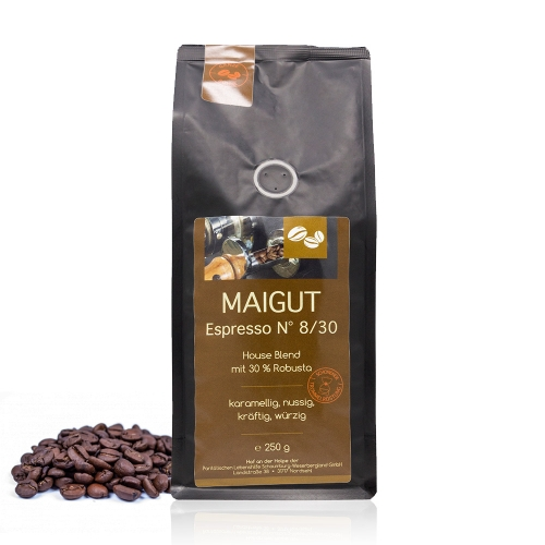 Kaffee Espresso N° 8/30 (ganze Bohne)