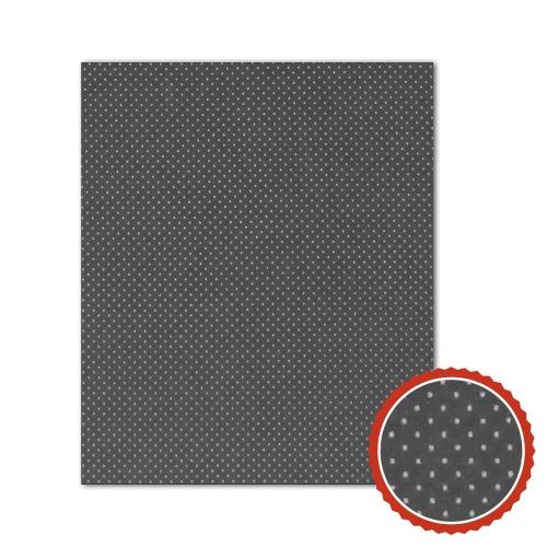 Bienenwachstuch Anthrazit mit weißen Punkten (3 Größen)