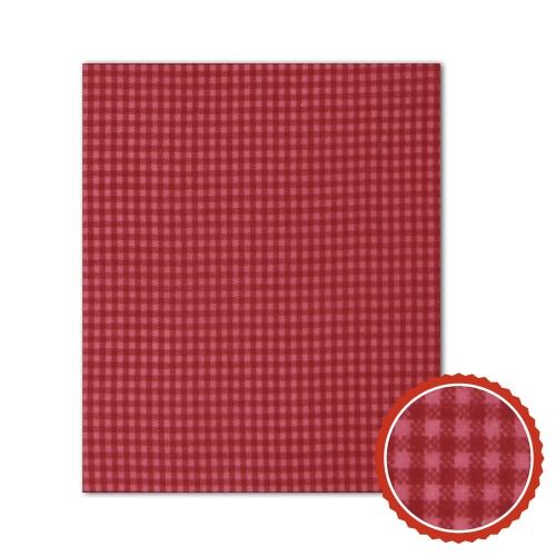 Bienenwachstuch Rot mit weißen Karos (3 Größen)