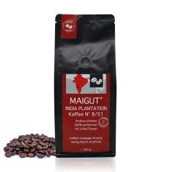India Plantation Kaffee N° 8/51 (ganze Bohne)