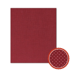 Bienenwachstuch Rot mit weißen Punkten (3 Größen)